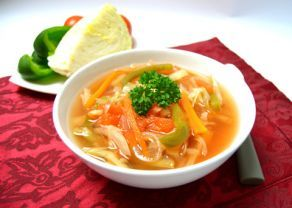 Fotografie článku: Recept na tukožroutskou polévku krok za krokem