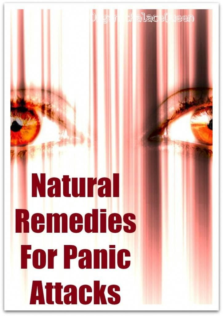 How to calm anxiety attack naturally
