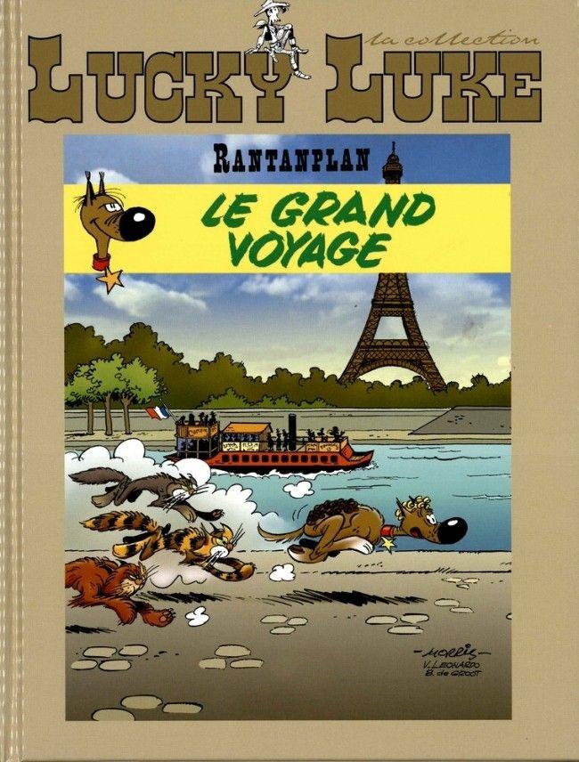 Lucky Luke - La collection (Hachette) -89- Rantanplan - Le Grand voyage
