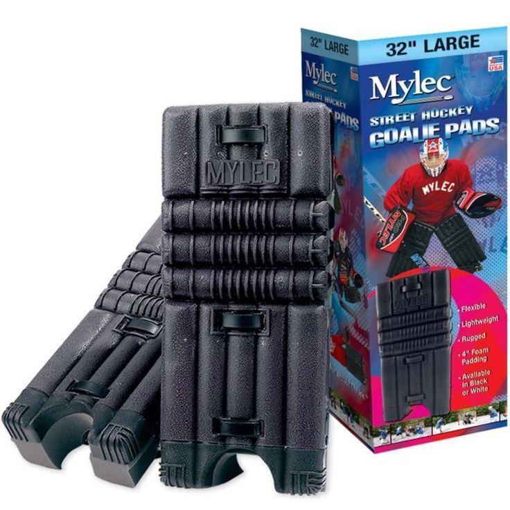 Mylec Junior Street Hockey Goalie Pads, Black