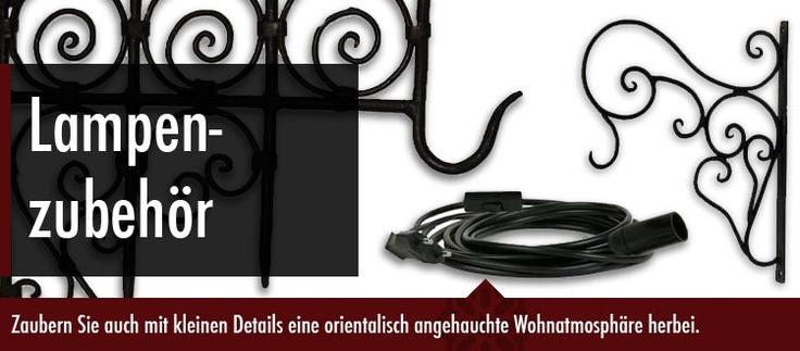 Elektrozubehör, Eisen-Wandhaken für orientalische Lampen