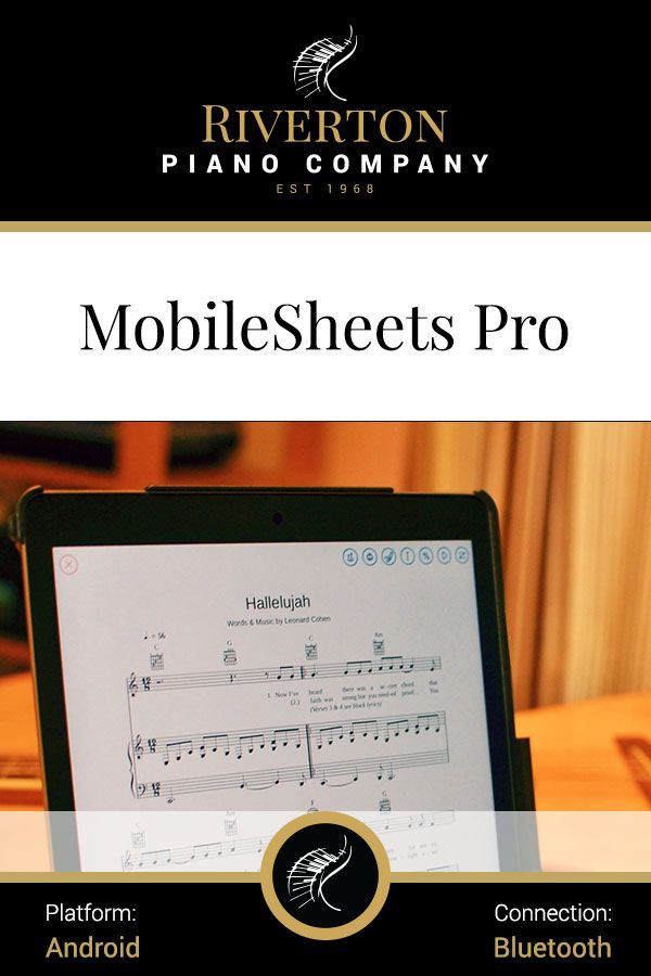 Riverton Recommended Mobilesheetspro Is The Premier Sheet Music