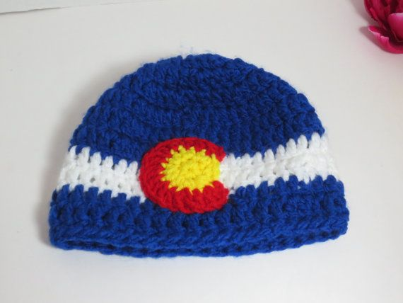 Colorado Flag hat  Adult Unisex Colorado by BitchinBagsbyBenita, $25.00