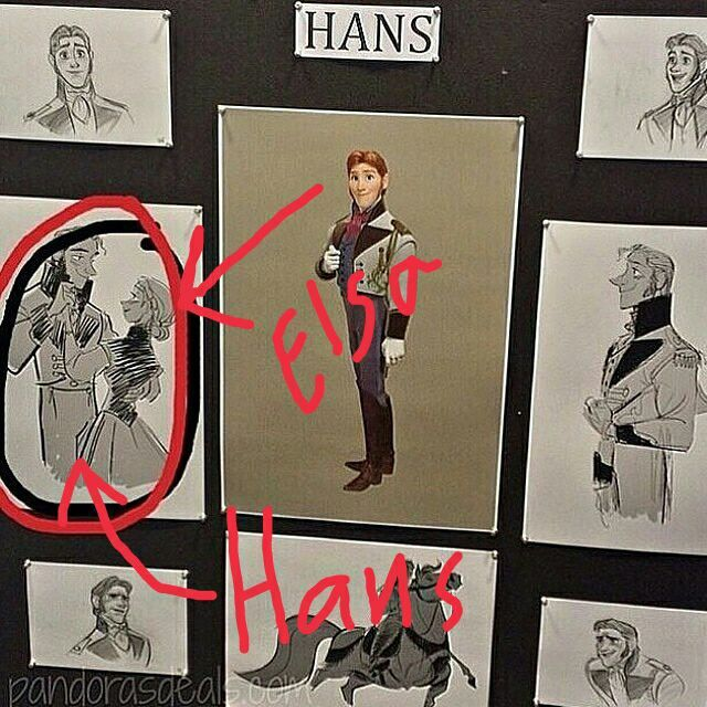 The moment you find out the original story boards for Frozen had Elsa and Hans together...  ~ Why'd you change it!?