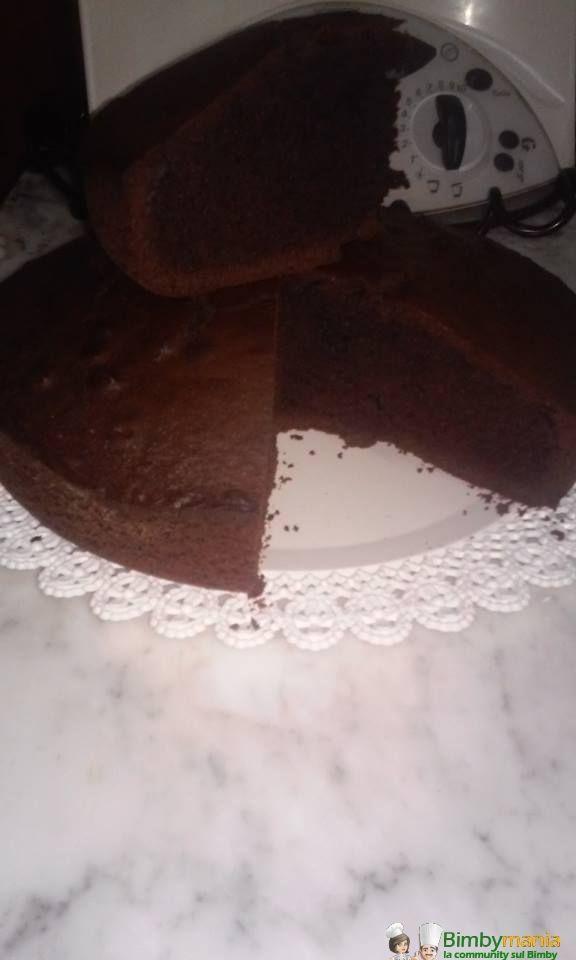 torta cacao e panna Bimby