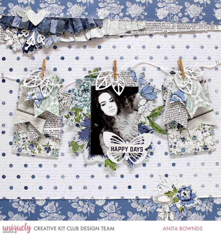 Hi there, Sharing some fun news today I'm a guesting at uniquely creative kits this month and super excited to share some fun layout...