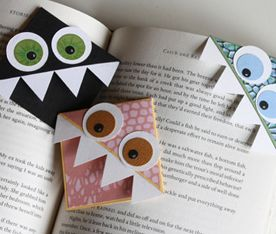 cute for kids. Bookmarks!