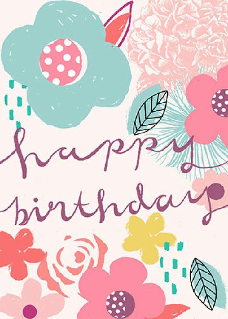 Happy birthday ✿ ⚘✿
