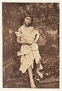 The Reverend Charles Lutwidge Dodgson, a mathematics professor at Oxford better known by his pen name, Lewis Carroll, often photographed friends' children outfitted in storybook costumes, playacting the sorts of fantastic scenes that appear in his writing