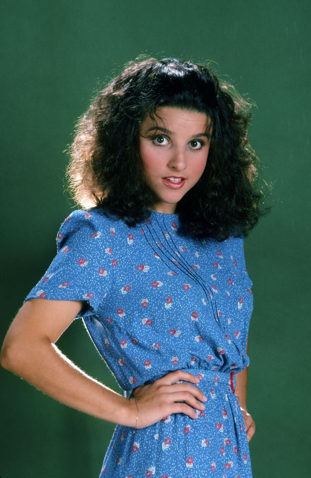 Julia Louis Dreyfus - comedienne extraordinaire! Her character Elaine Benes is me to a T