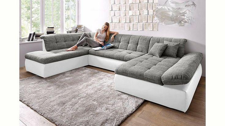 Perfect Wohnlandschaft XXL wahlweise mit Bettfunktion und Armlehnenverstellung Jetzt bestellen unter https moebel ladendirekt de wohnzimmer sofas