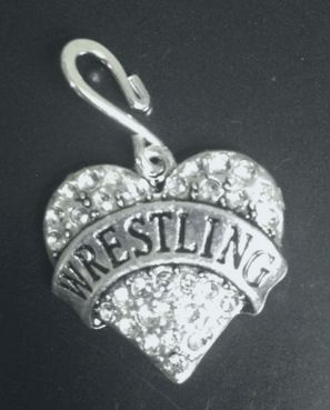 16 best wrestling fans wrestling jewelry and wrestling charms wrestling heart pendant wrestling jewelry wrestling by jsueselling 725 aloadofball Image collections