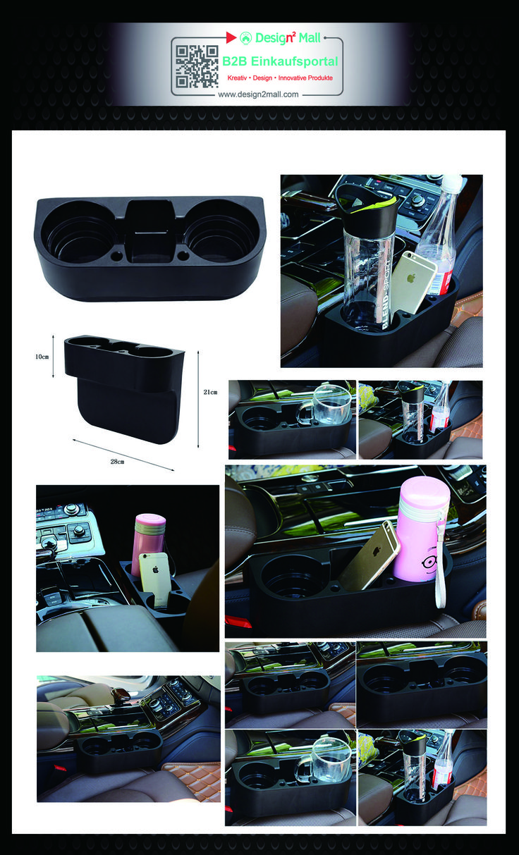 Auto Truck Car Drink Cup Holder Valet Beverage Can Bottle Food Mount Stand Black(search for AUTO-058-en in store) Getränkehalter Dosenhalter Becherhalter Auto Kaffeehalter Drink Holder Universal