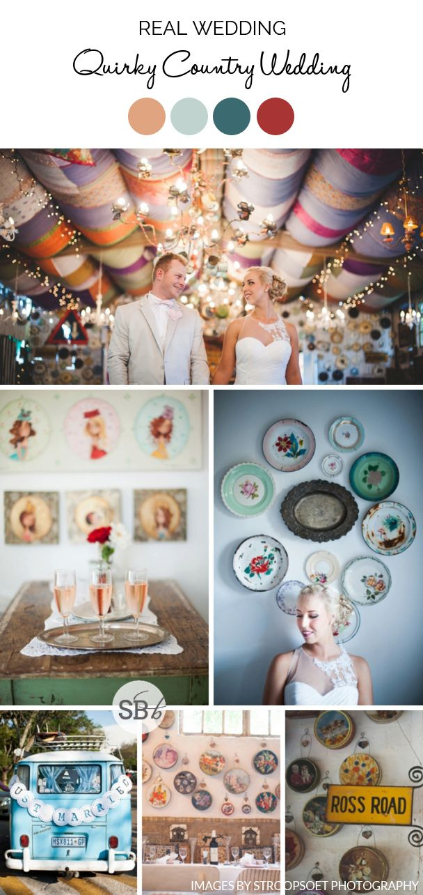 Quirky Country Wedding by Stroopsoet Photography   SouthBound Bride   http://www.southboundbride.com/quirky-country-wedding-at-jan-harmsgat-by-stroopsoet-photography-lizahn-bennie