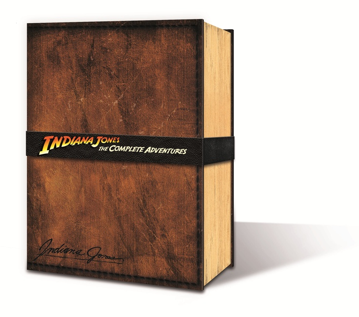 The 144-page Holy Grail replica book, featuring segments of Indy's personal account of his adventures from all four films.