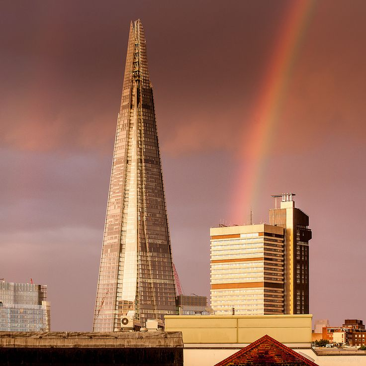 The Shard looks good in any weather to my eyes.