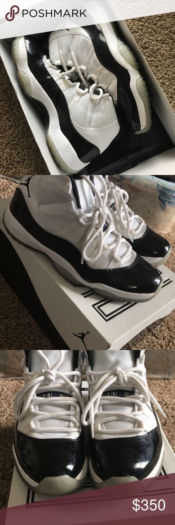 Air Jordan 11 Concords sz 10.5 Great great great condition. Don't sleep! Jordan Shoes Athletic Shoes