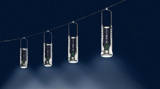 Turkey's Designnobis turns plastic bottles into solar-powered lanterns