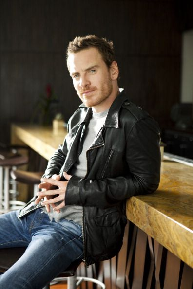 Leather Jackets l Michael Fassbender
