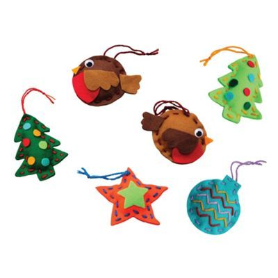 LuMoo Makemee Christmas tree decorations- at Debenhams.com