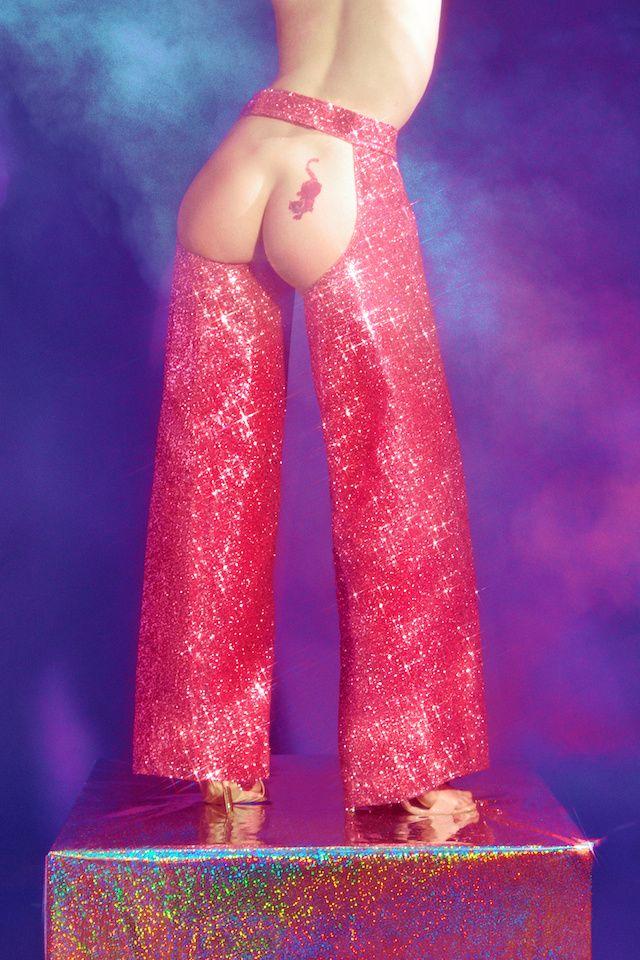 #Peachy bum, Peachy Keen in Chaps by Christian Cowan Sanluis for Vice.com #christiancowansanluis #vice