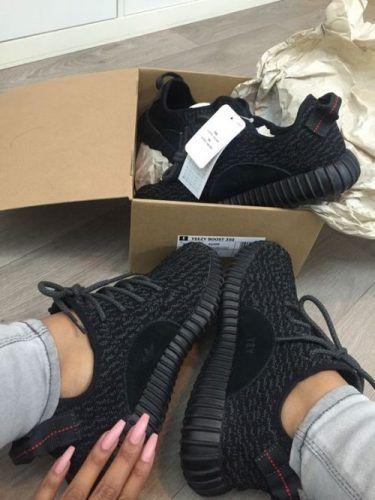yeezy black adidas- Yzy boost Adidas sneakers http://www.justtrendygirls.com/yzy-boost-adidas-sneakers/