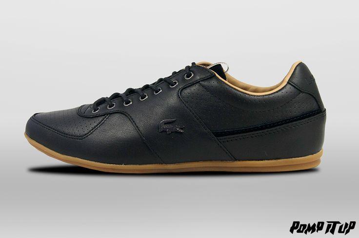 Lacoste Taloire 17 SRM (BLK Leather) For Men Sizes: from 40 to 46.5 EUR Price: CHF 159.- #Lacoste #Taloire17SRM #LacosteTaloire #Sneakers #SneakersAddict #PompItUp #PompItUpShop #PompItUpCommunity #Switzerland