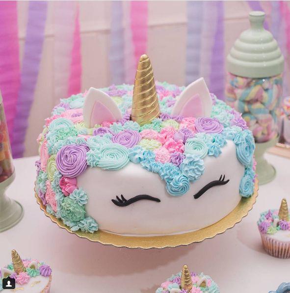 Resultado de imagem para festa de unicornio
