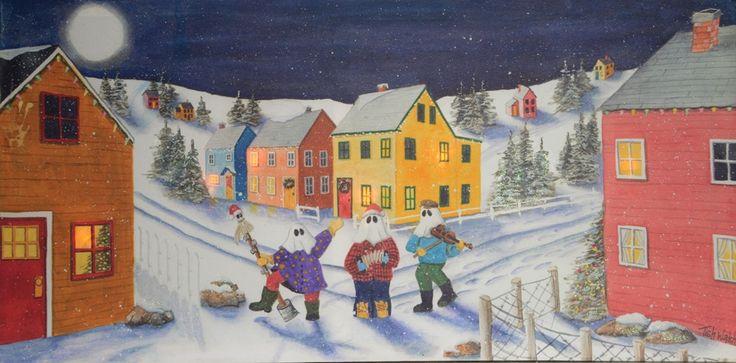 Canvas Print - Mummer - Light-up Panel - 8 x 16