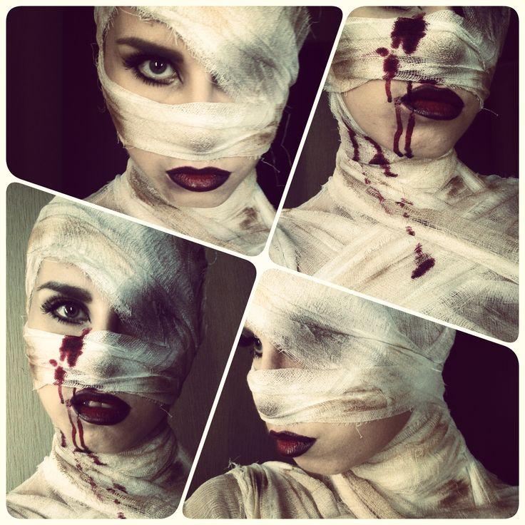 #makeup #halloween #mummy