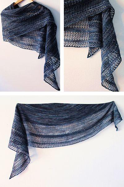Ravelry: Interlude shawl with Knitlob's Lair Tuulen Tytär - knitting pattern by Janina Kallio.