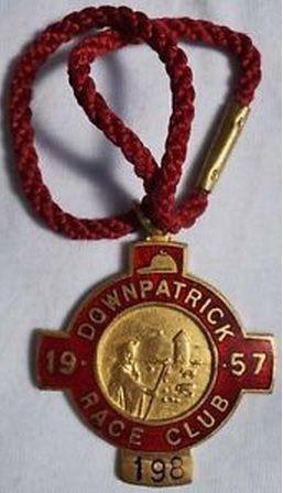 Annual badge - Downpatrick 1957