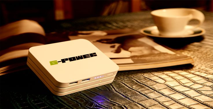 Must Have It ! : Smart Life # G-POWER STX # Portable Charger # Power Bank # Coffee # Cafe # Book