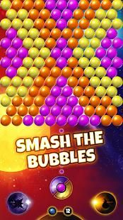 Download for free and enjoy popping all the colored bubbles anytime and anywhere you want.