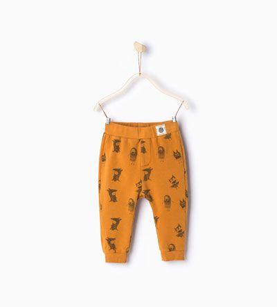Legging met kostuums-Broeken-Baby jongen | 3-36 maanden-KINDEREN | ZARA Nederland