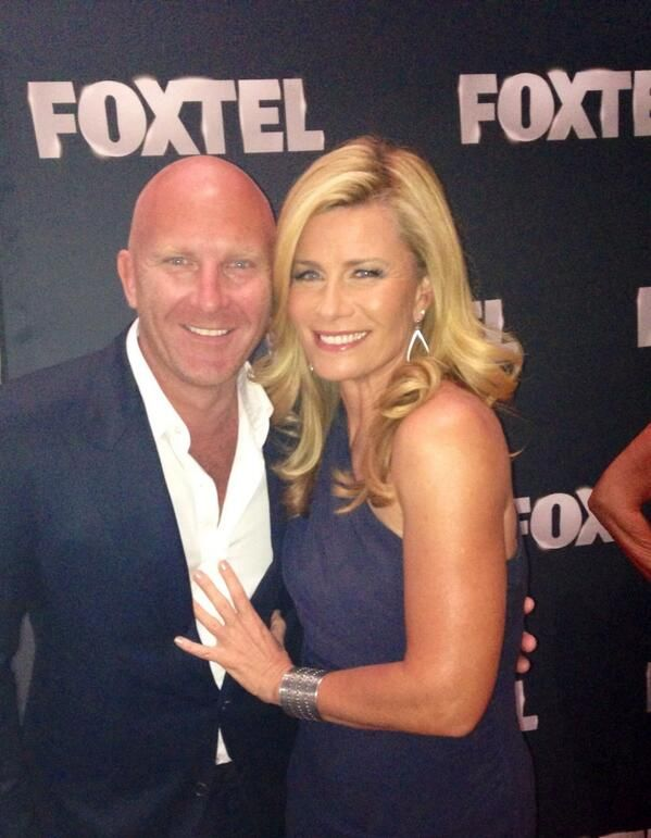 On the red carpet with Matt Moran for Foxtel Upfront 2014