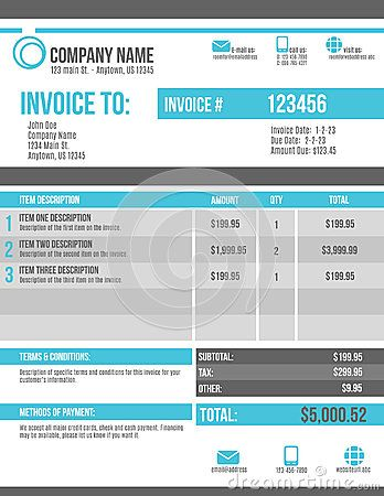 10 best Email Invoice Design Concepts images on Pinterest - blank invoice download