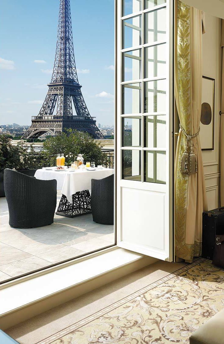 Eiffel View Duplex Terrace Shangri La Hotel Paris 700 M From