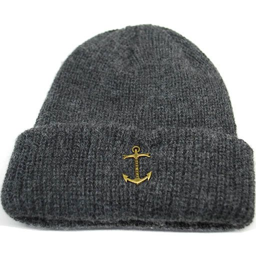 Loser Machine Dark Seas Coaster Beanie (Heather Charcoal) $21.95