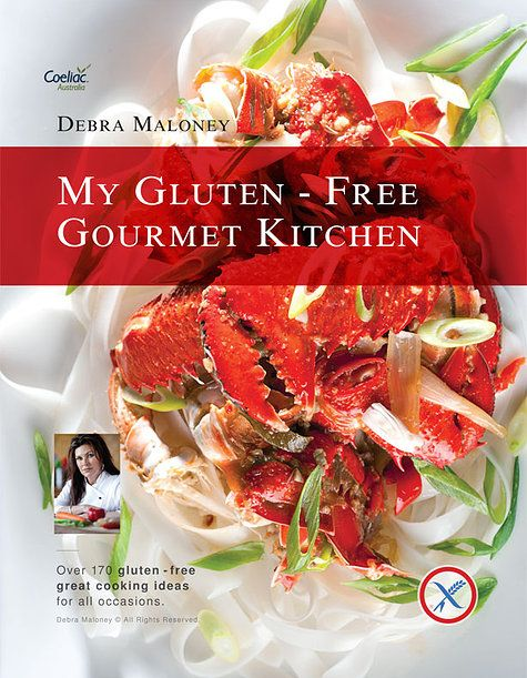 My gluten free gourmet kitchen endorsed by Coeliac Australia. 177 gorgeous fresh new recipes to suit any pallet, every recipe photographed with food presentation and styling tips for every occasion.