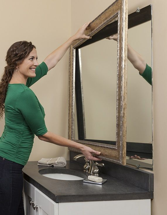 add frame to bathroom mirror 40 best images about mirrormate how it works on 21889