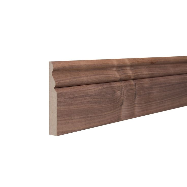 Walnut veneer MDF ogee skirting board offers the perfect choice when finishing…
