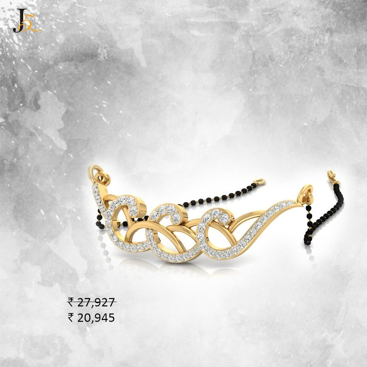 Work wear #diamond  #mangalsutras with latest new designs, grab them now! https://jewels5.com/jewellery/mangalsutras #DiamondWaliDiwali #Diwali #BISHallmarked #CertifiedDiamonds