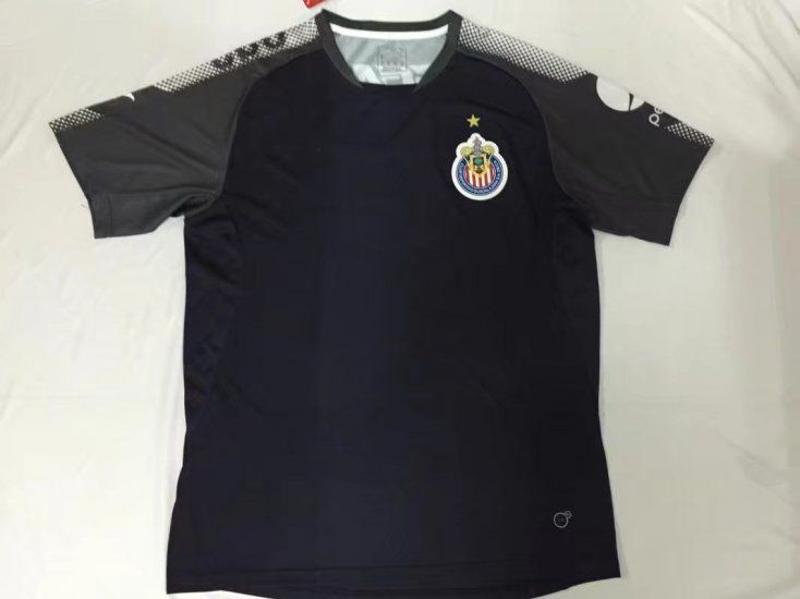 chivas 2017 18 season liga mx training shirt