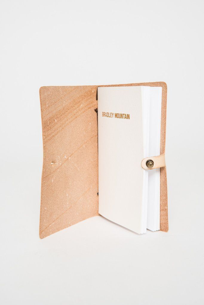 Leather Journal Cover from Bradley Mountain- fits moleskin journals - the Tennyson