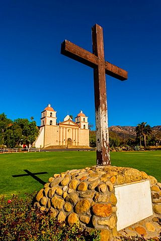 Misión de Santa Barbara, Santa Bárbara, California, EE.UU.