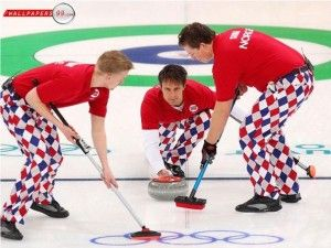 Curling. And excellent troos