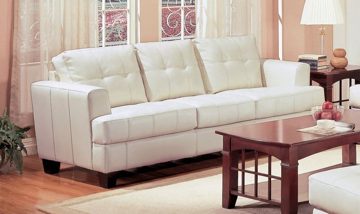 1000 Ideas About Cream Leather Sofa On Pinterest