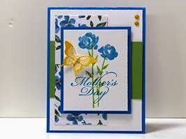 Peanuts and Peppers Papercrafting: Make It Monday - Stampin' Up! Painted Petals Mother's Day Card