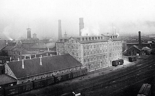 Gooderham & Worts Distilleries